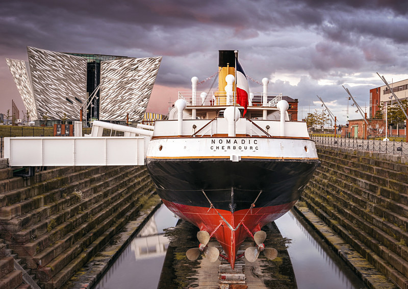 SS Nomadic - Irish Landscapes