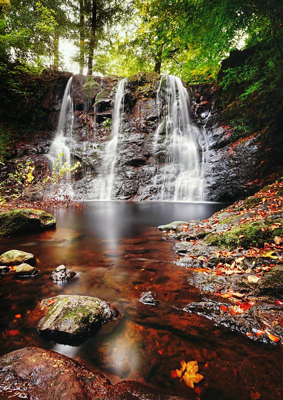 'Ess-Na-Crub' Waterfall (ii) - Irish Landscapes
