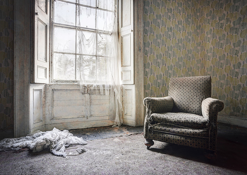 Best seat in the house. - 'Abandoned Ireland'