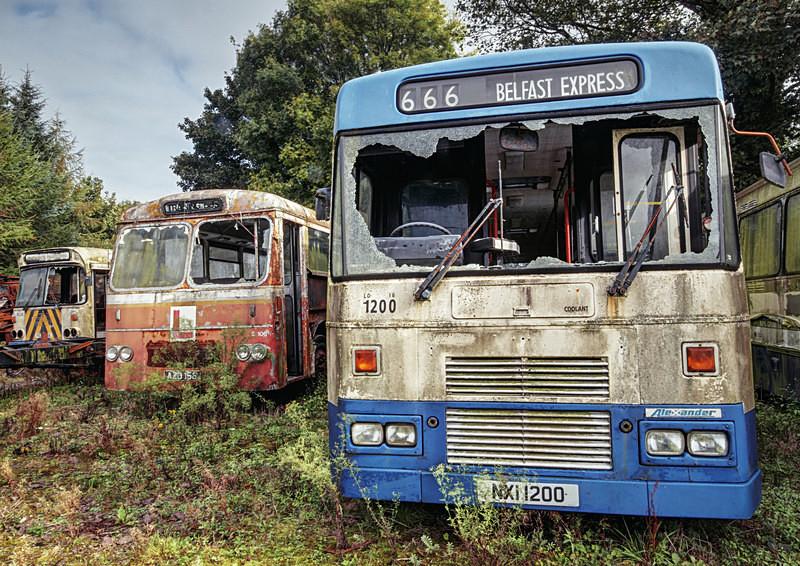 Bus Graveyard i - 'Abandoned Ireland'