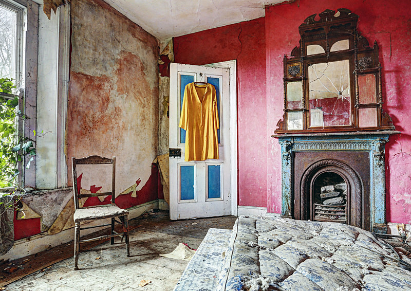 The Colourful Bedroom - 'Abandoned Ireland'