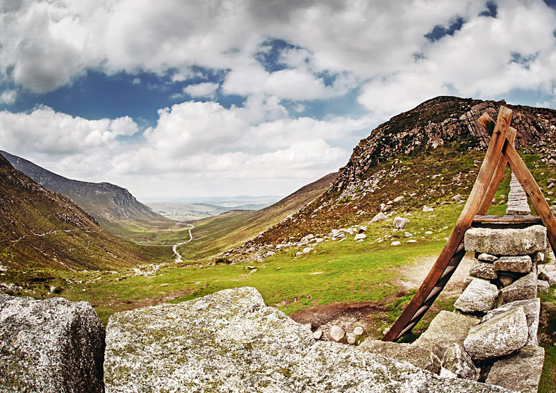 Hare's Gap - Irish Landscapes