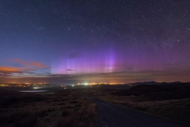 Lough Salt Aurora - Donegal's Sky at Night