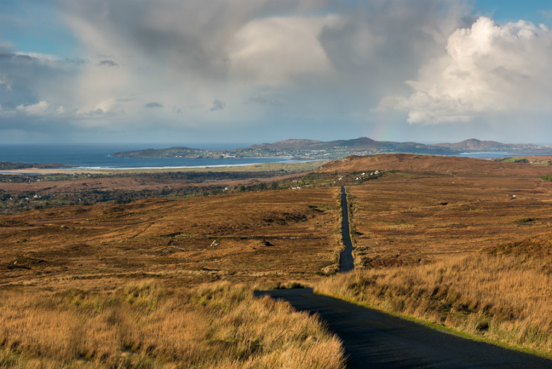 The Road to Glen - Co. Donegal