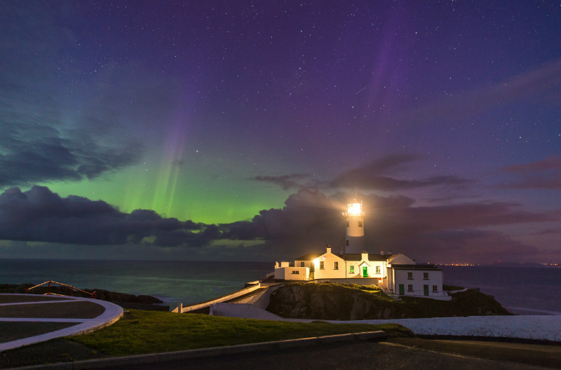 Aurora Borealis Fanad Lighthouse - Donegal's Sky at Night