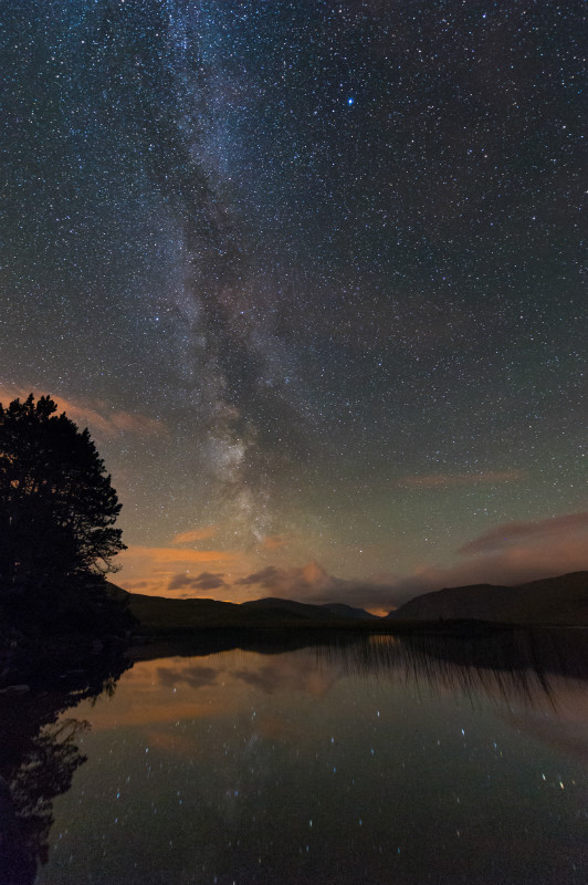 Milky Way Glenveagh - Donegal's Sky at Night