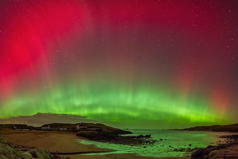 Aurora Borealis Dooey - Donegal's Sky at Night