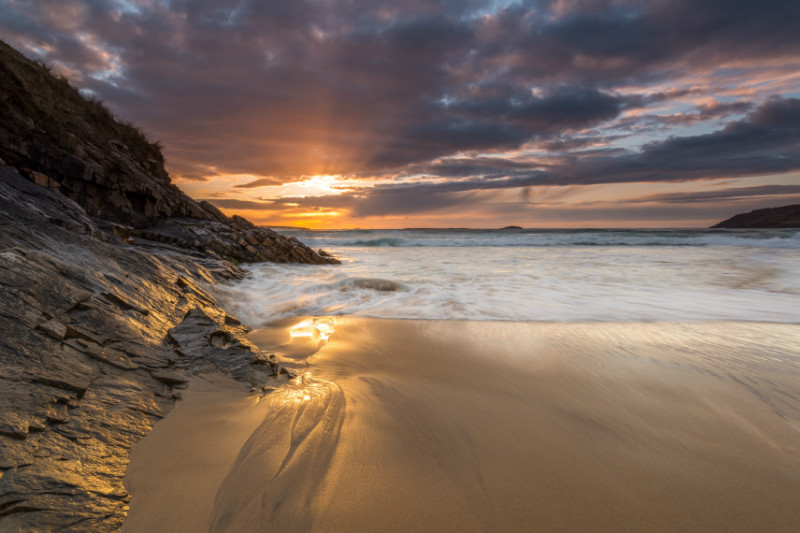 Golden Sands of Tra na Rossan - Co. Donegal