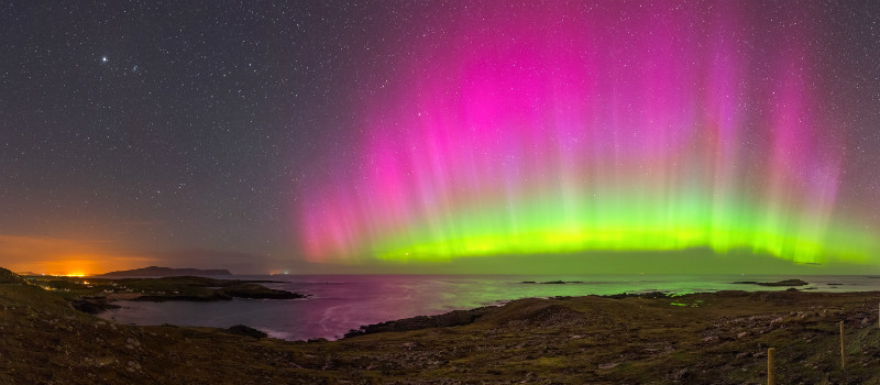 Northern Lights Dooey - Donegal's Sky at Night