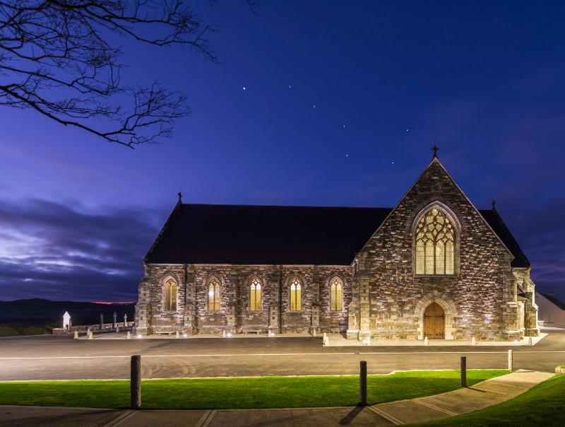 Plough - St. John The Baptist Church - Donegal's Sky at Night