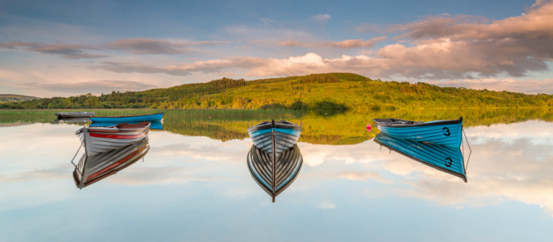 Lough Fern Reflections - Co. Donegal