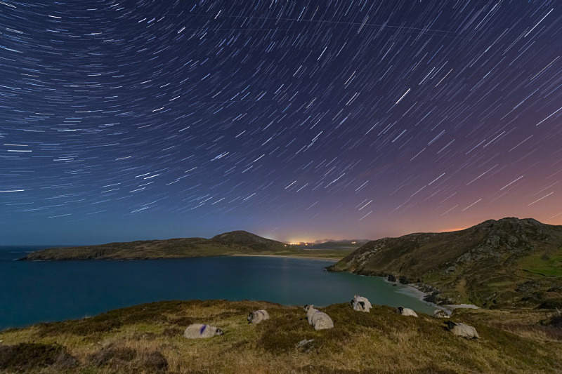 Star Trails - Donegal's Sky at Night