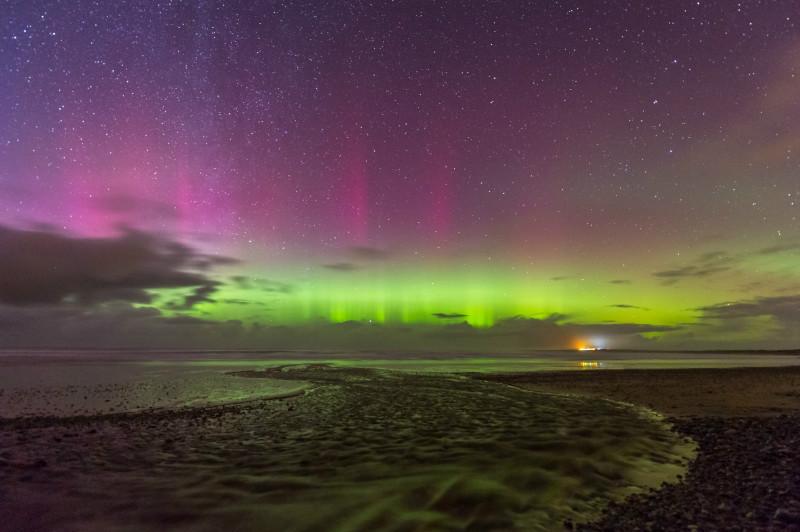 Aurora Borealis, Fanad. - Donegal's Sky at Night