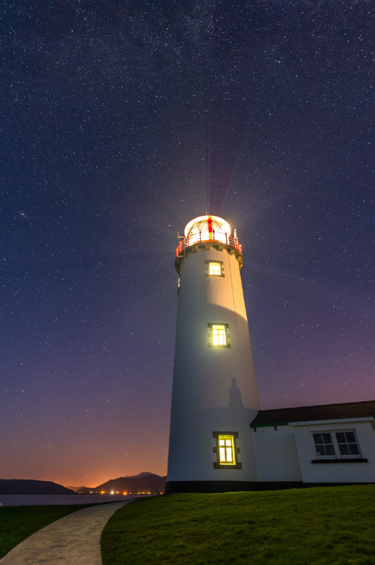 Guiding Lights - Donegal's Sky at Night