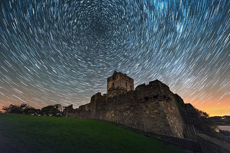 Earth's Rotation - Star Trails - Donegal's Sky at Night