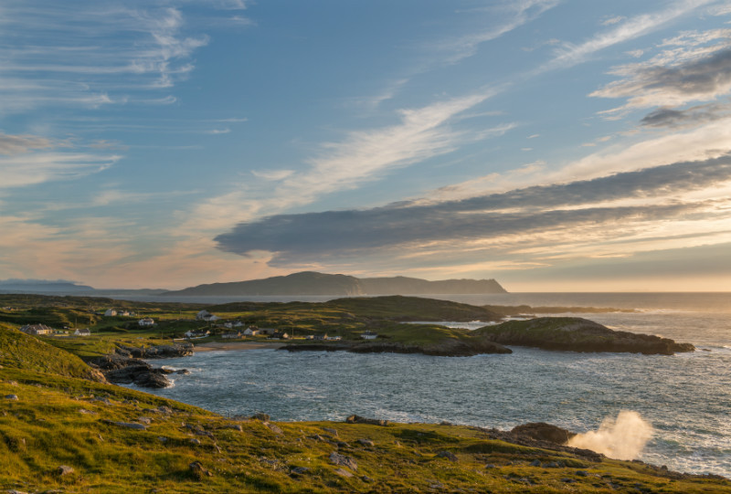 Evening Light at Dooey - Co. Donegal