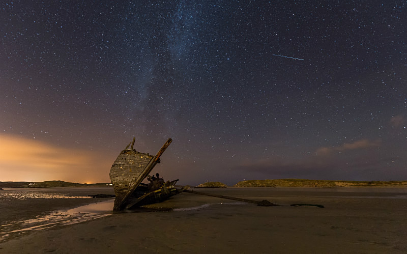 'Bád Eddie' - Donegal's Sky at Night
