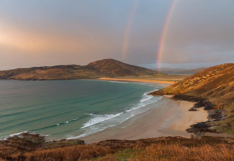 Tra na Rossan Rainbow - Co. Donegal