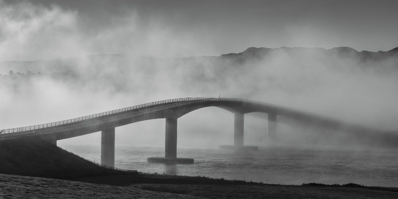 Harry Blaney Bridge - Black & White