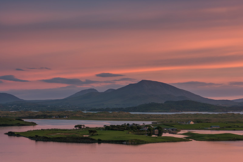 Island Roy Sunset - Co. Donegal