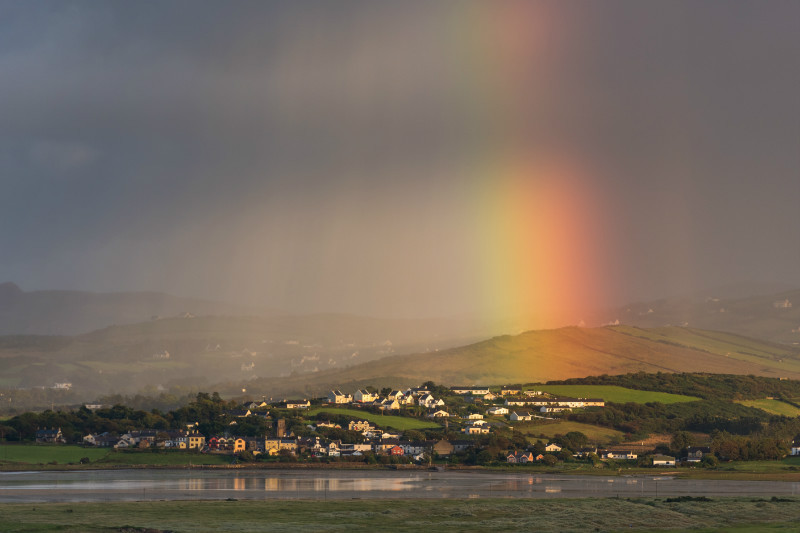 Rainbow Rays over Carrigart - Co. Donegal
