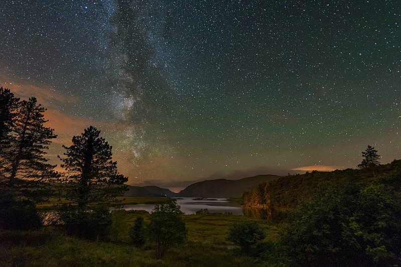 Heavens Above - Glenveagh - Donegal's Sky at Night
