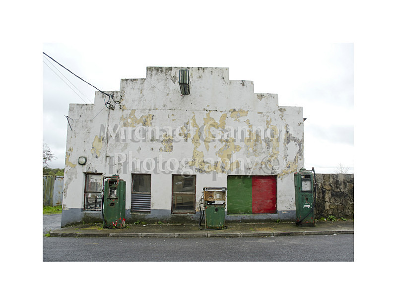 Kilkelly Co Mayo 2 - Derelict Petrol Pumps
