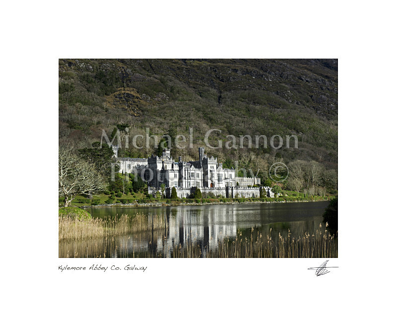 Kylemore Abbey Co Galway - Landscape Colour