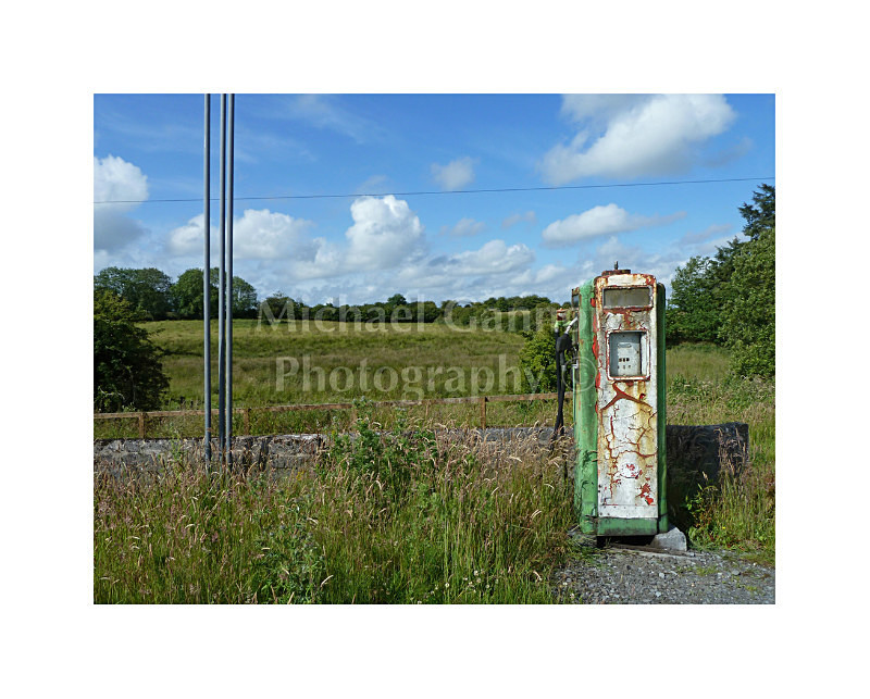 Manulla Co Mayo 1 - Derelict Petrol Pumps