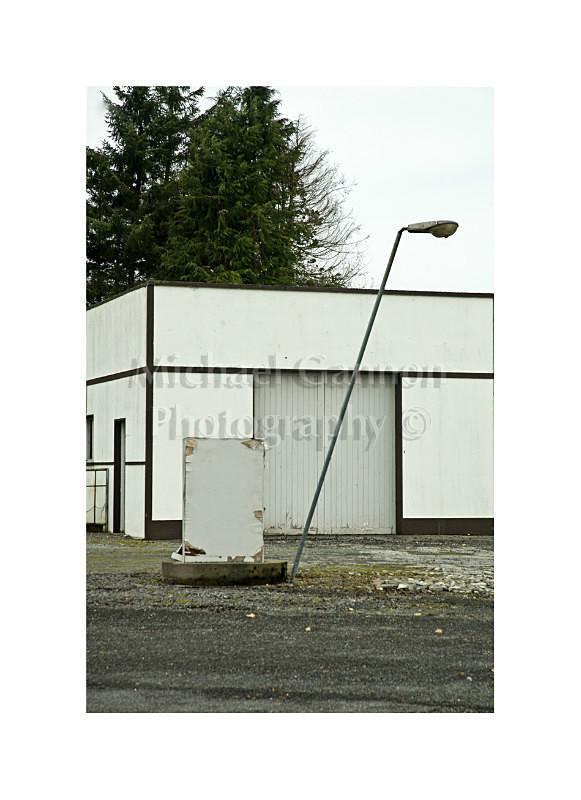 Ballinrobe Co Mayo 2 - Derelict Petrol Pumps