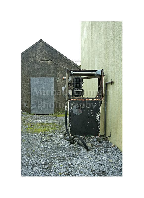 Shrule Co Mayo 2 - Derelict Petrol Pumps