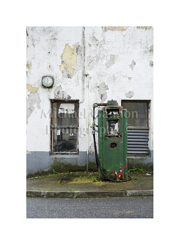 Kilkelly Co Mayo 1 - Derelict Petrol Pumps