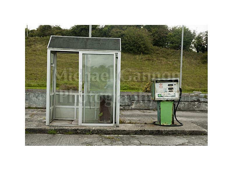 Manulla Co Mayo 2 - Derelict Petrol Pumps