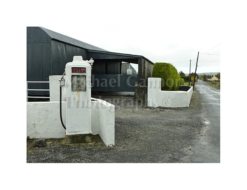 Belcarra Co Mayo - Derelict Petrol Pumps