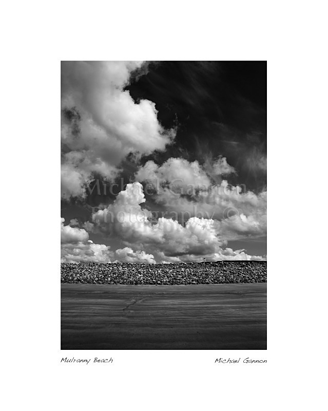 Mulranny Beach Co Mayo 1 - Landscape Black and White