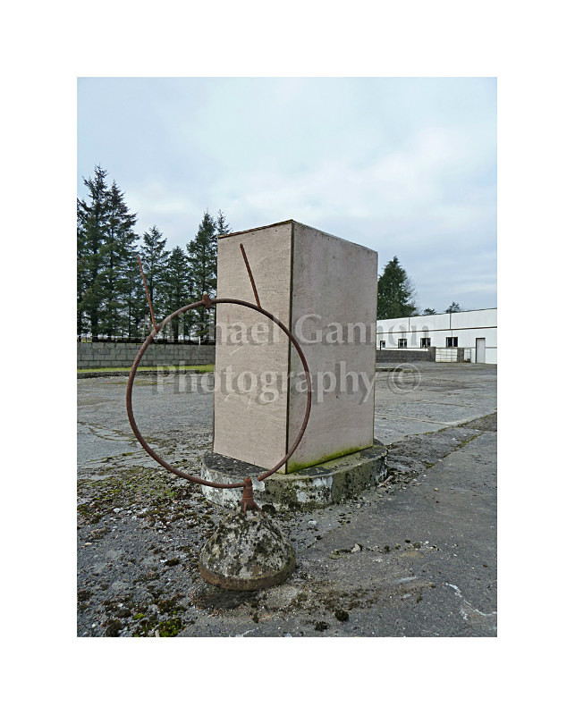 Ballinrobe Co Mayo 5 - Derelict Petrol Pumps