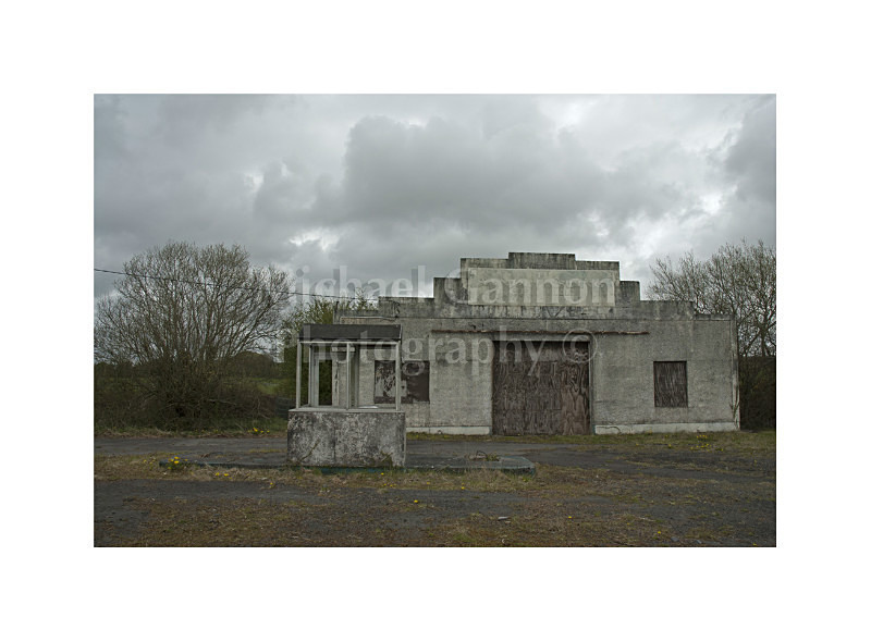 Balla Co Mayo - Derelict Petrol Pumps