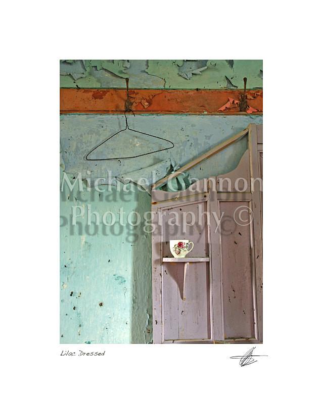 Lilac Dresser - Derelict Ireland