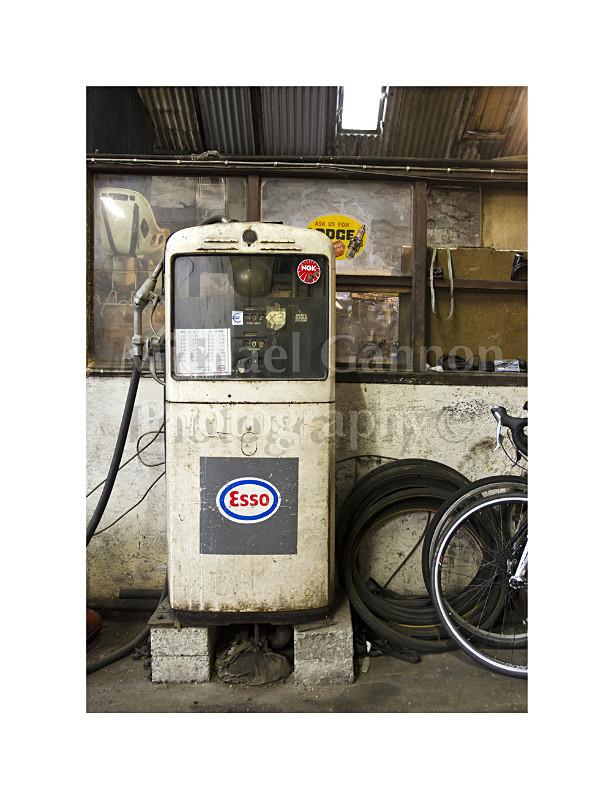 Westport Co Mayo - Derelict Petrol Pumps