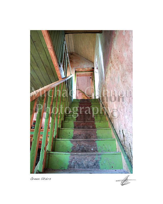 Green Stairs - Derelict Ireland