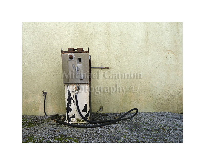 Shrule Co Mayo - Derelict Petrol Pumps