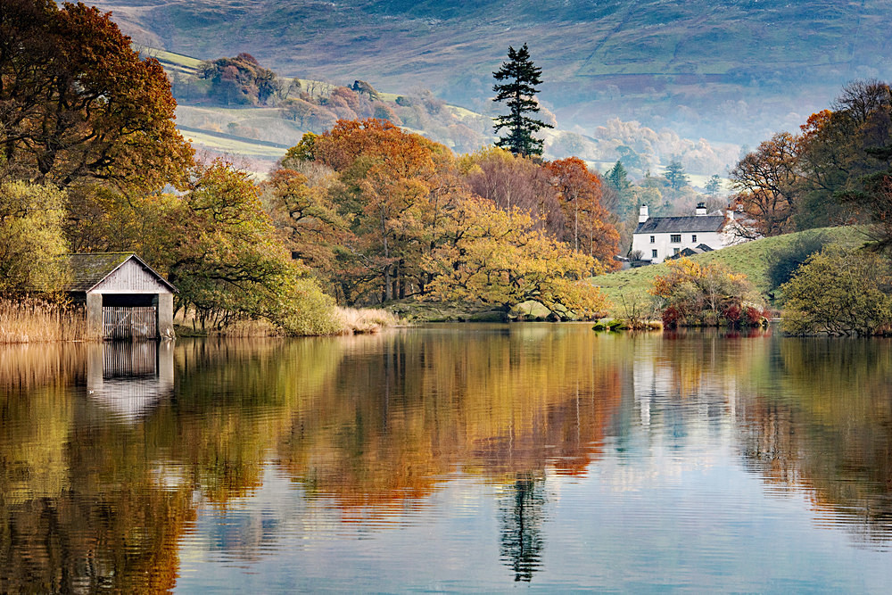 Autumn Shades, Rydal - The Lake District