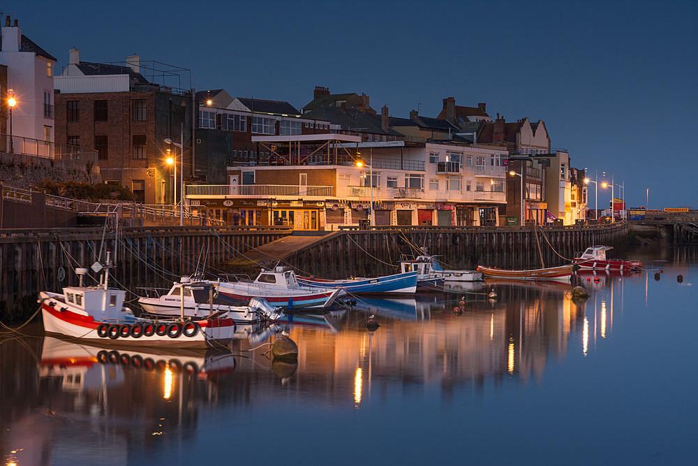 Bridlington Harbour Lights - Yorkshire