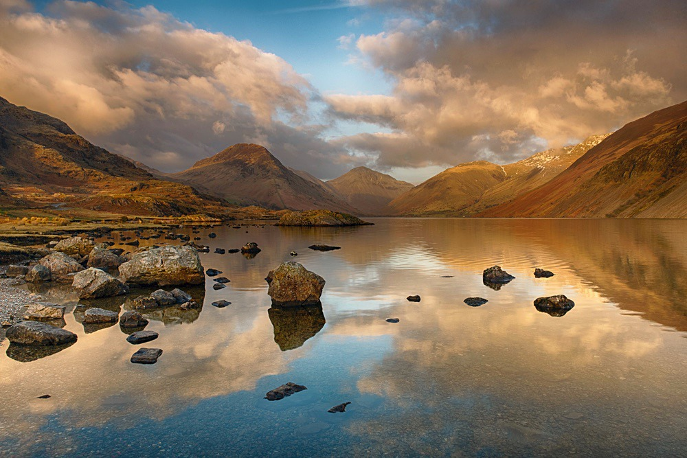 Wastwater Sunset - The Lake District