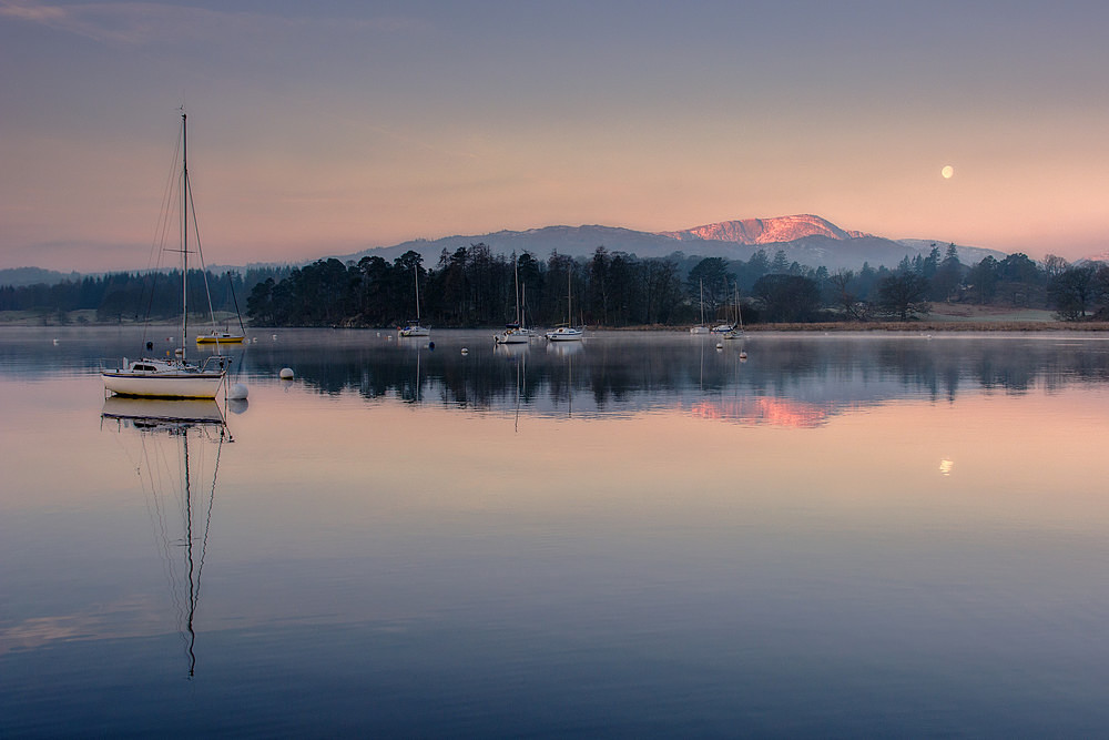 The Yacht and the Moon - The Lake District