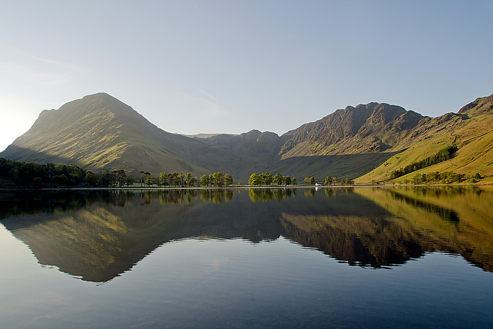 Buttermere; the whole picture - The Lake District
