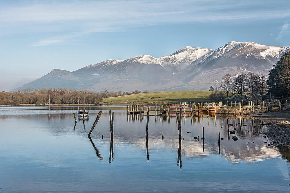 Skiddaw from Keswick landings - The Lake District