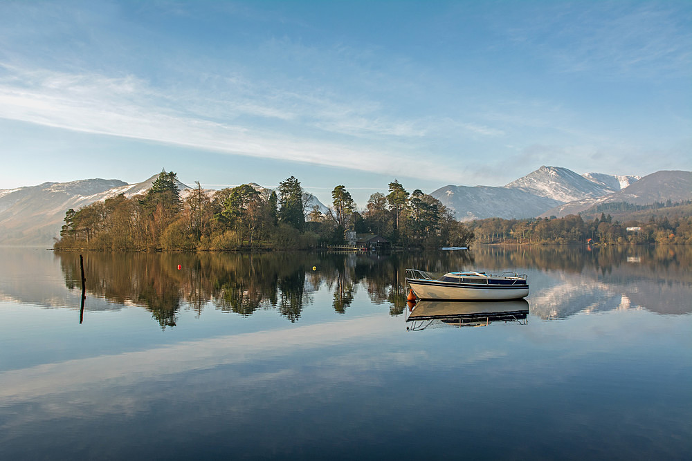 Derwentwater Boat - The Lake District