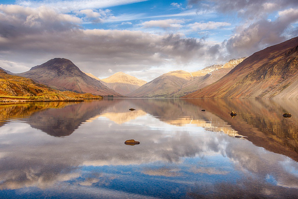 Wastwater Symmetry - The Lake District