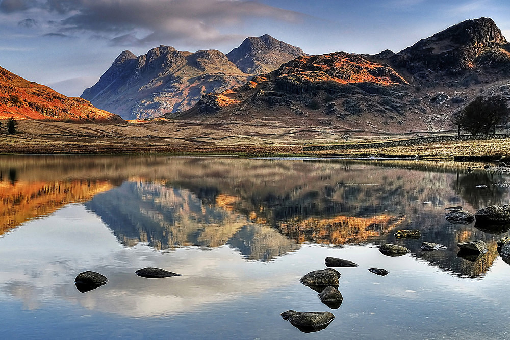 Langdale Pikes up close - The Lake District